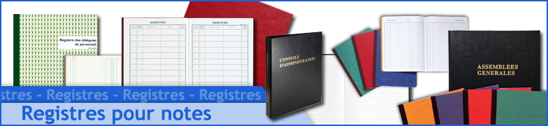 Registres réglementaires