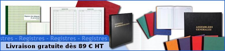 Registre comptable et journal