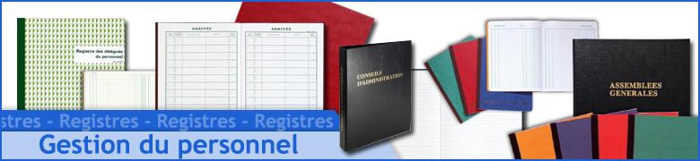Registre des Délégués - CSE