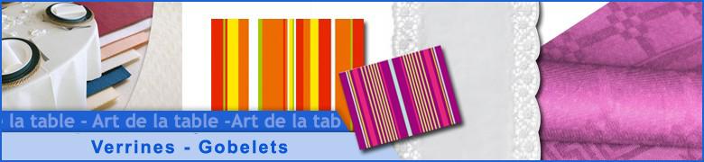 Verrines - Gobelets