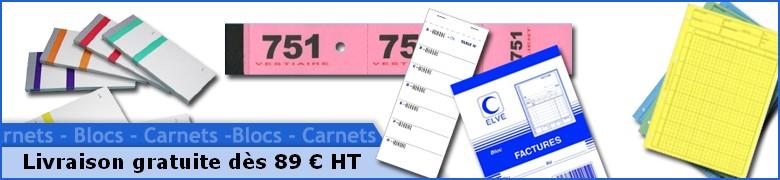 Blocs - Carnets