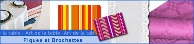 Piques - Brochettes